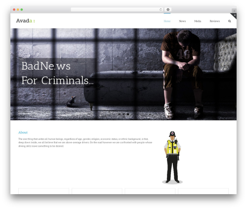 Best WordPress theme Avada - badne.ws