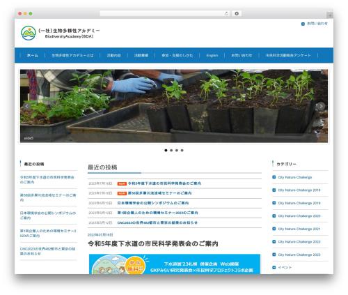 FSV002WP BASIC CORPORATE 01 (BLUE) WordPress theme - bda.or.jp/wp