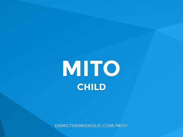 Mito Theme Child best WooCommerce theme