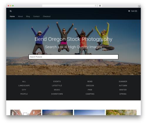 WP theme Stocky - bendoregonstock.com