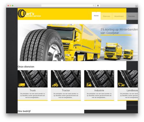 YellowProject Multipurpose Retina WP Theme theme WordPress - bartsbandenservice.nl