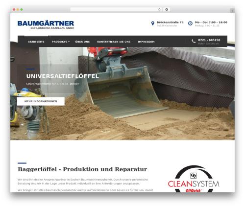 BestBuild theme WordPress - baumgaertner-web.de