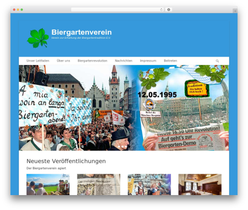 Catch Base Pro best WordPress theme - biergartenverein.de