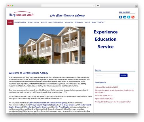 Free WordPress WordPress Carousel plugin - berginsurance.com