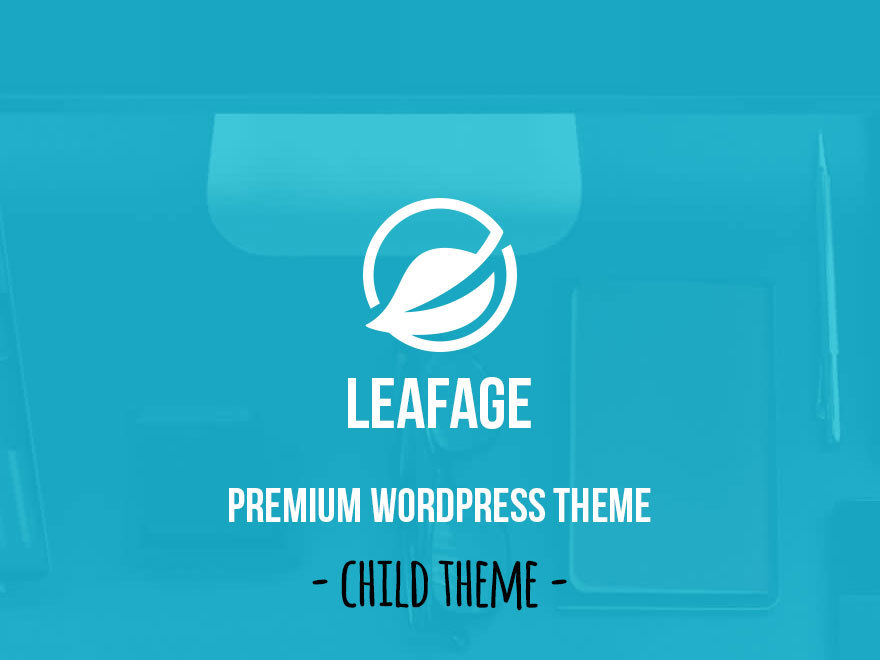 Leafage Child WordPress page template