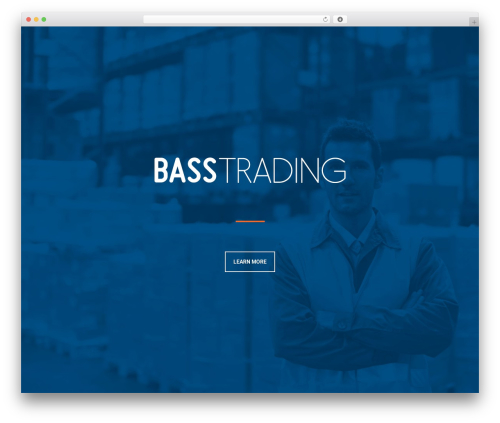 Leafage WordPress theme - basstrading.com.au