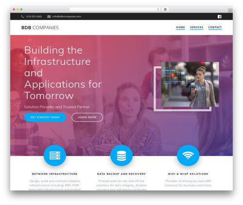 Free WordPress Mesmerize Companion plugin - bdbcompanies.com