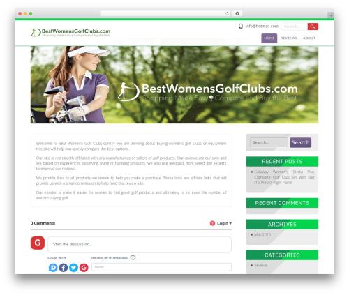 Searchlight template WordPress free - bestwomensgolfclubs.com