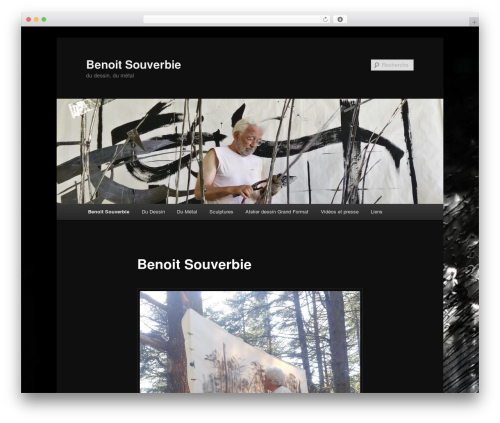 Twenty Eleven free WordPress theme - benoitsouverbie.com