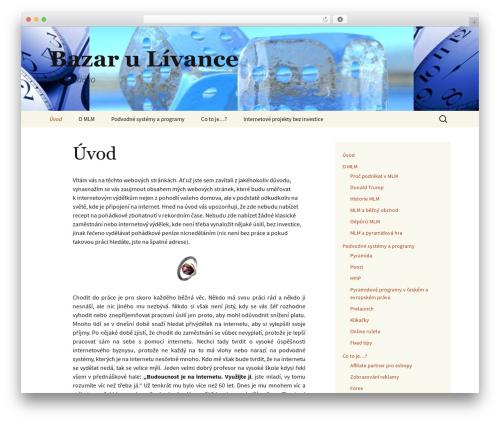 Twenty Thirteen template WordPress free - bazarulivance.eu