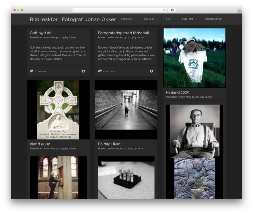Visual WordPress template free download - bildreaktor.se