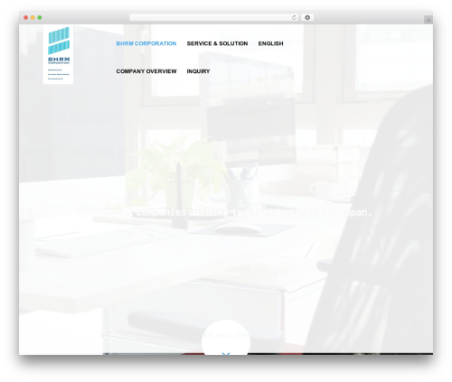 WordPress theme AGENT - bhrm.co.jp