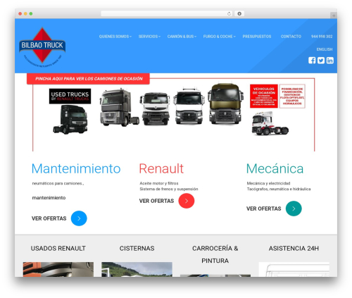 WP theme autorepair - bilbaotruck.com