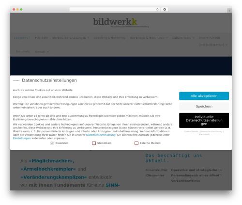 Free WordPress Slick Sitemap plugin - bildwerkk.de