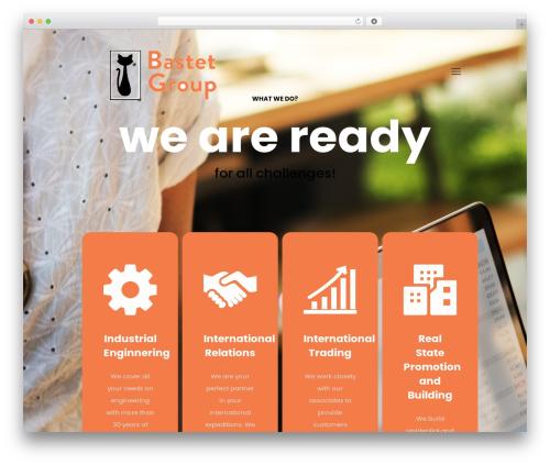 Betheme best WordPress template - bastetgroup.es