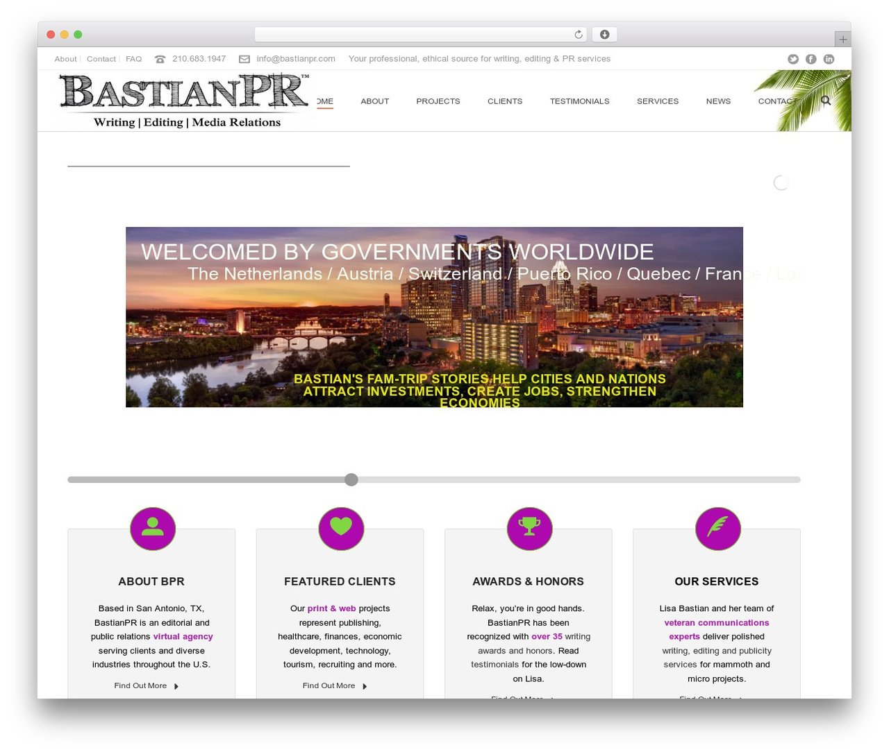 Jupiter best WordPress template - bastianpr.com