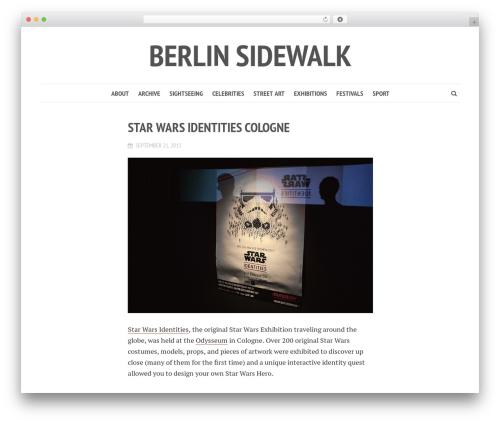 Shamrock best WordPress template - berlinsidewalk.com