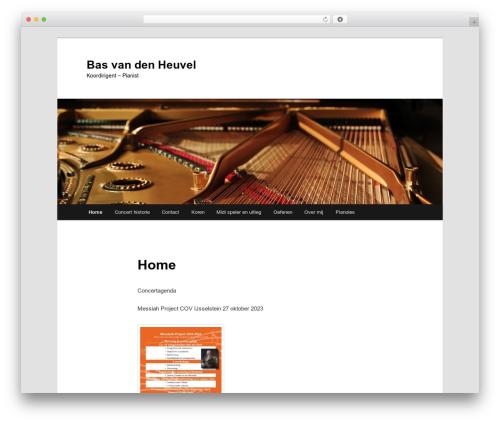 Free WordPress Twenty Eleven Theme Extensions plugin - basvandenheuvel.nl