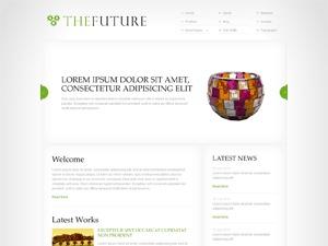 WordPress theme The Future Green
