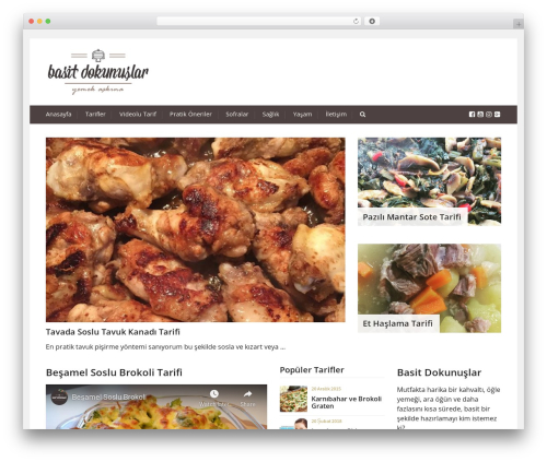 Best WordPress theme Cookbook - basitdokunuslar.com