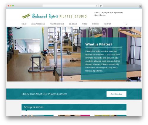 Child Theme WordPress theme - balancedspiritpilates.com