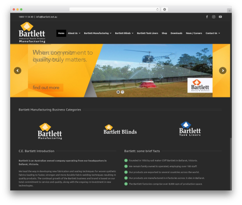 Free WordPress WP Store Locator plugin - bartlett.net.au