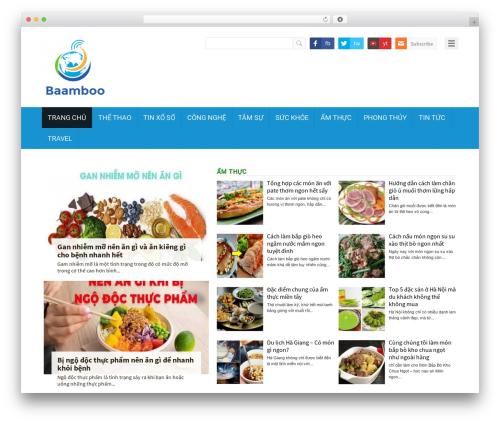 WordPress magazine3-widgets plugin - baamboo.vn