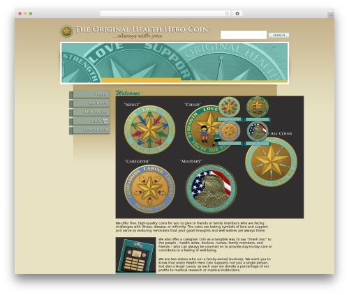 BLANK Theme WP template - healthherocoin.com