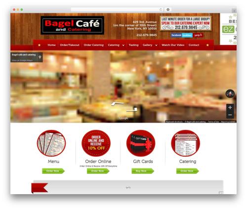 Bordeaux Premium Theme WordPress theme - bagelcafenyc.com