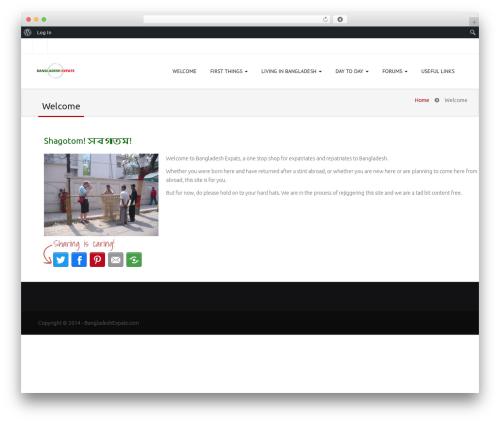 Jollyany theme WordPress - bangladeshexpats.com