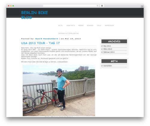 Simplify WordPress theme - bike-berlin.net