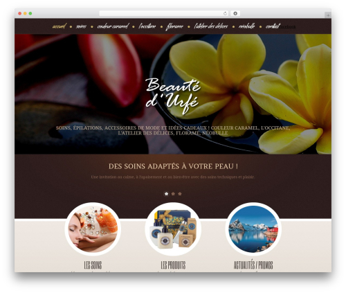 Theme WordPress theme1957 - beautedurfe.fr