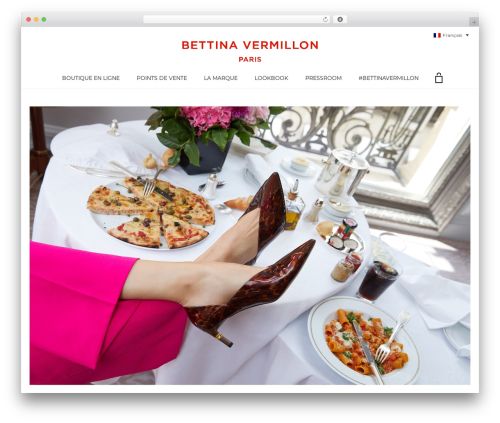 WordPress theme Aurum - bettinavermillon.com