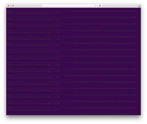WP theme Your Web Layout - bikinirunapparel.com