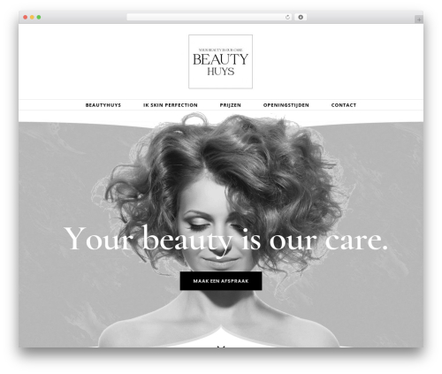 Avada WordPress theme - beautyhuys.com