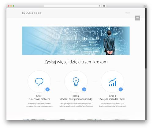 Betheme WordPress theme - becom.pl
