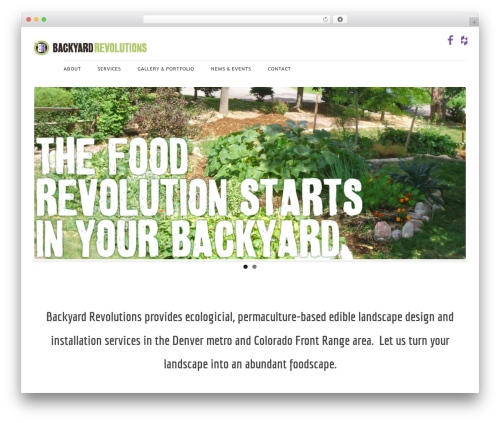 BYR 2016 WordPress theme - backyardrevolutions.com