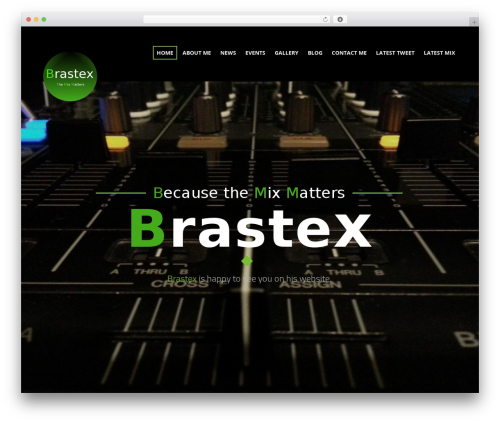 Sonorama WordPress theme - brastex.be