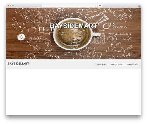 Theme WordPress SKT White - baysidemart.com