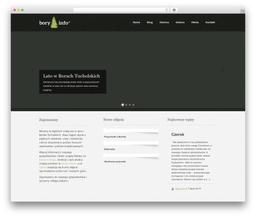 Theme WordPress Swatch - bory.info