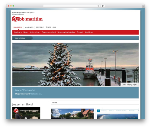 WordPress template _bb - bb-maritim.de
