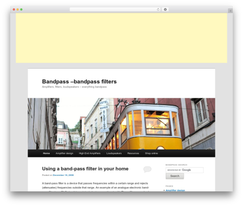 Free WordPress Google Maps All In One plugin - bandpass.co.uk