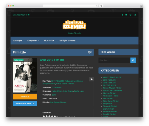 Free WordPress Theme My Login plugin - filmifullizlemeli.com