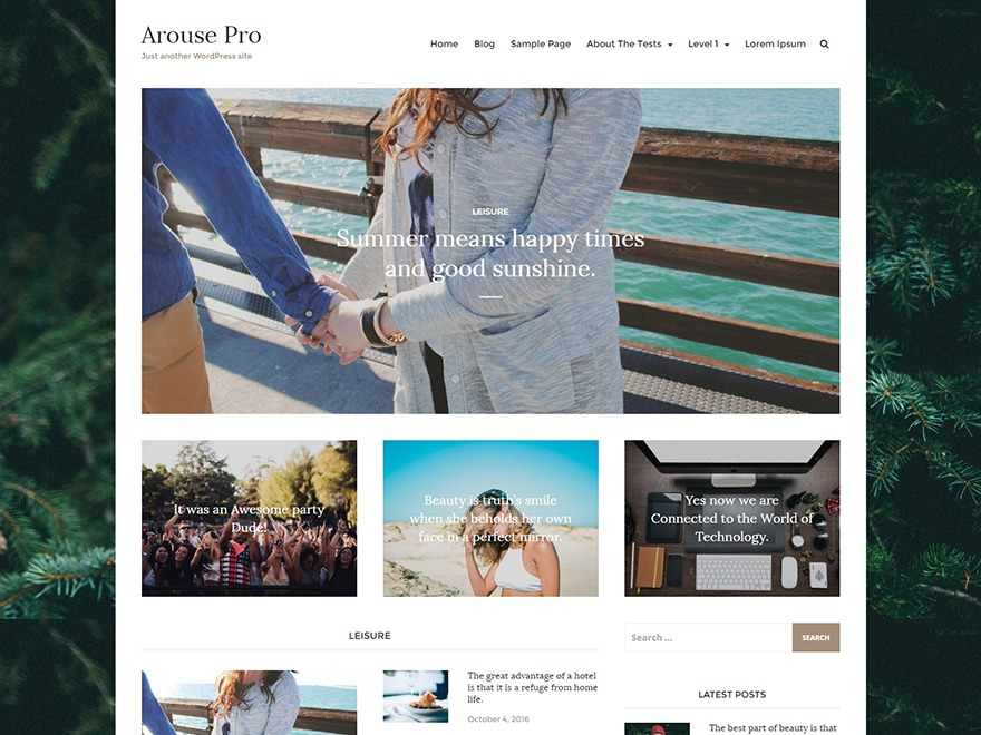 Arouse Pro best WordPress magazine theme