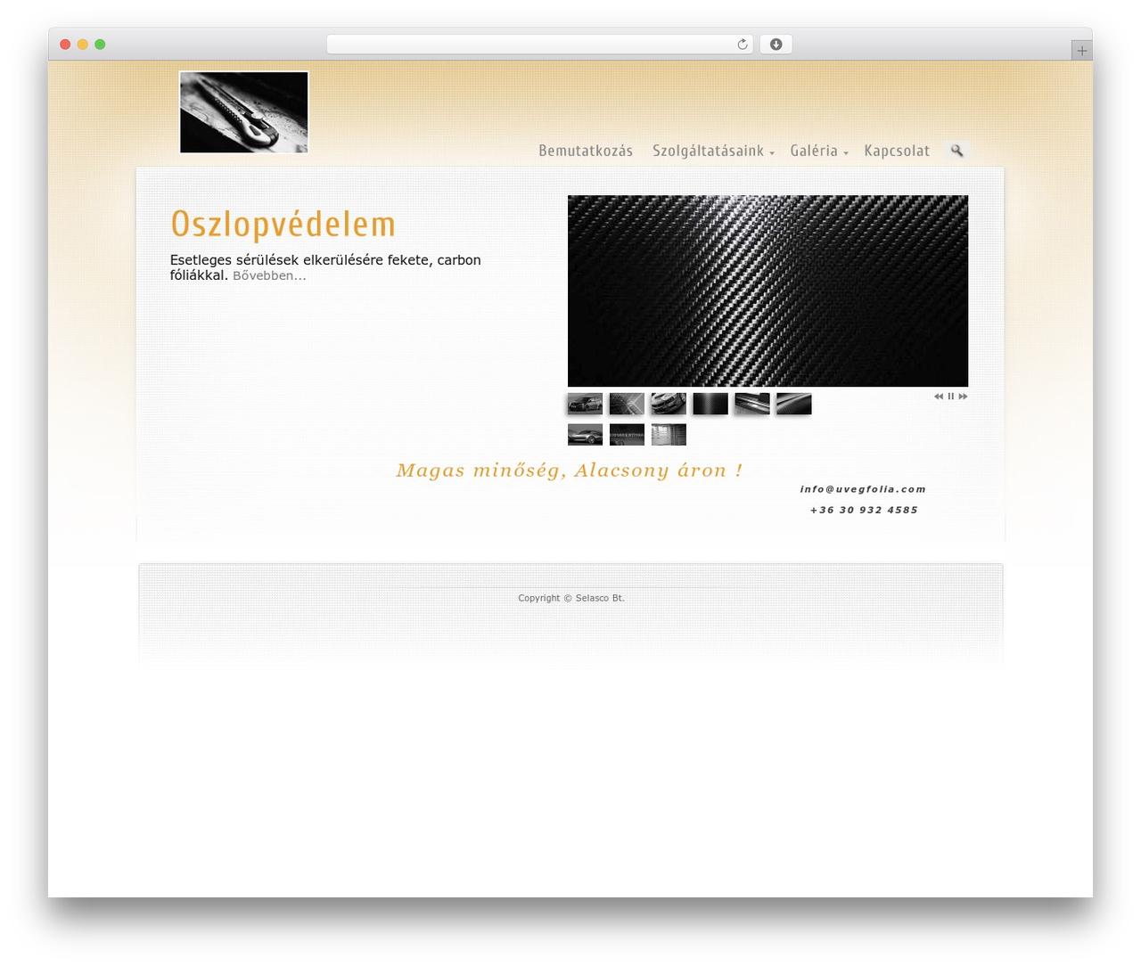 Best WordPress template Prestige Ultimate Wordpress Theme - uvegfolia.com