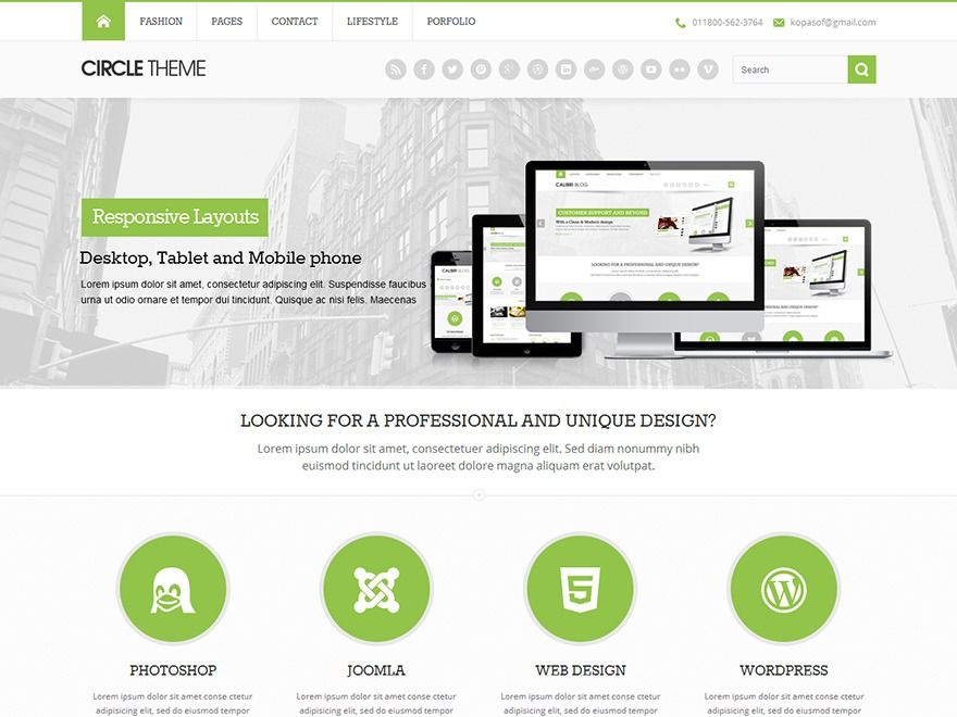 Circle LITE WordPress magazine theme