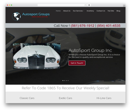 Divi-modified WordPress theme - usedluxurycarsalesfortlauderdale.com