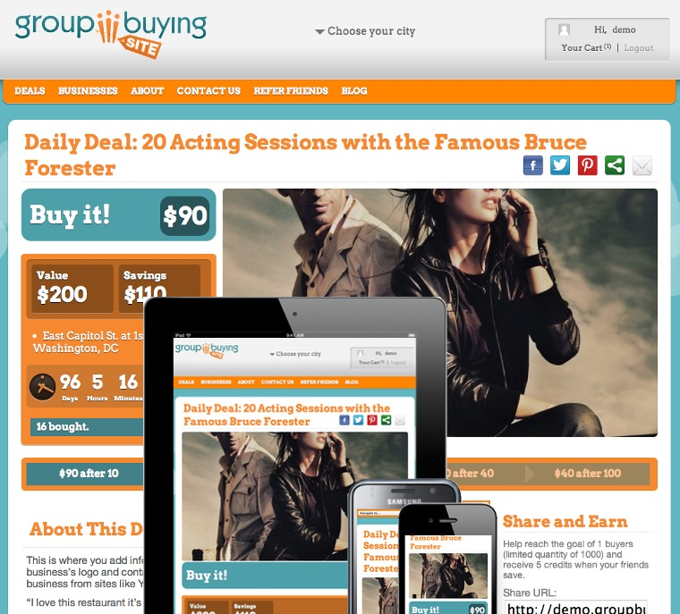 GBS Prime Theme theme WordPress