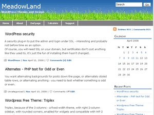 meadowland best WordPress theme