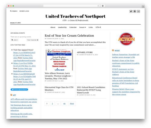 Mission News WordPress news template - unitedteachersofnorthport.com